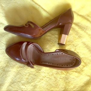 BCBGIRLS Brown Mary Jane Shoes 8.5